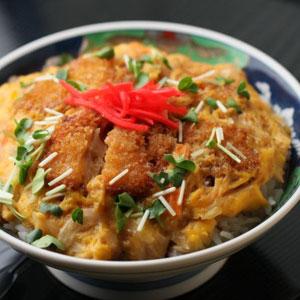 竹扇 レンコンカツ丼